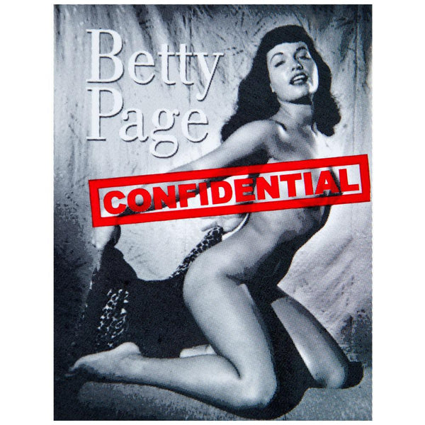 Betty Page - Confidential Sticker