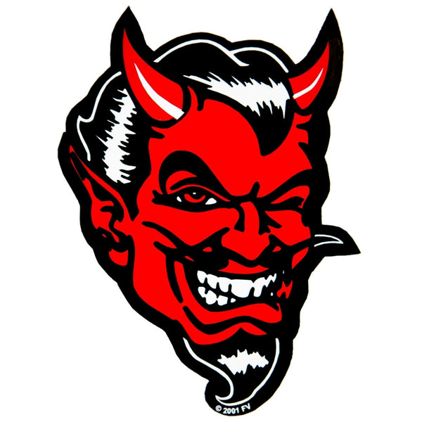 Large Devil Sticker