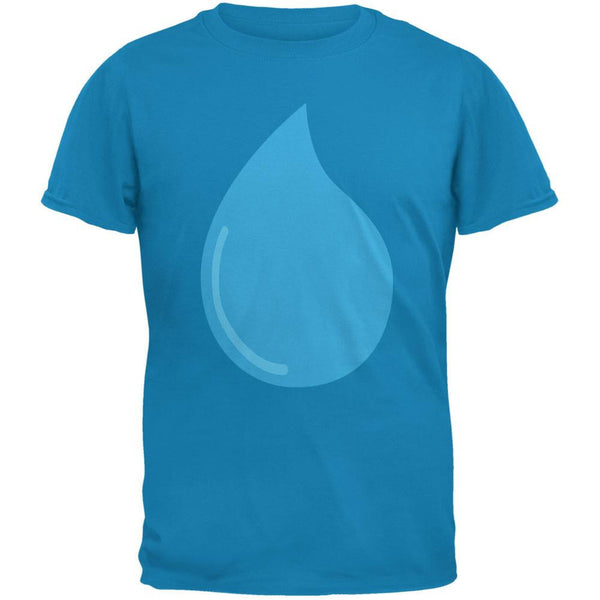 Climate Water March Droplet Costume Sapphire Blue Adult T-Shirt