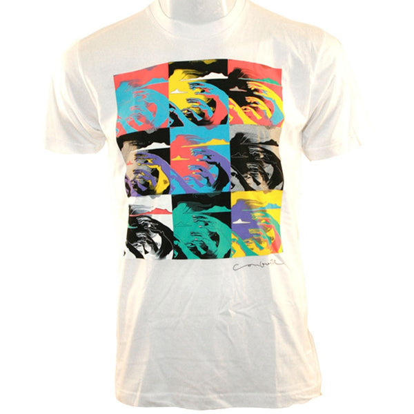 Conforti - Wave Hi White T-Shirt