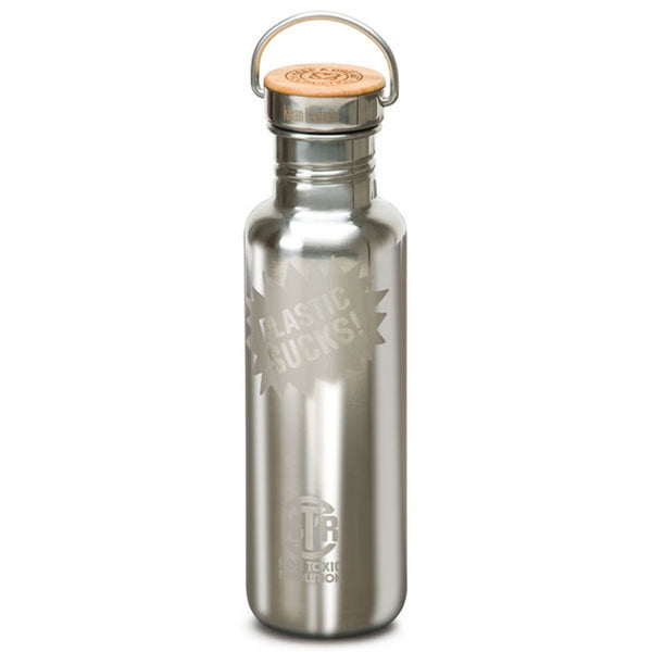 Non Toxic Revolution X Klean Kanteen - Mirrored Water Bottle