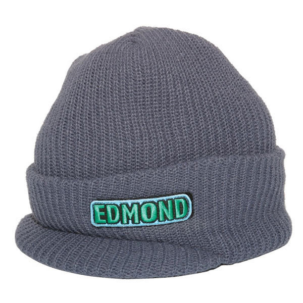 Edmond - Assorted Namesake Charcoal Beanie