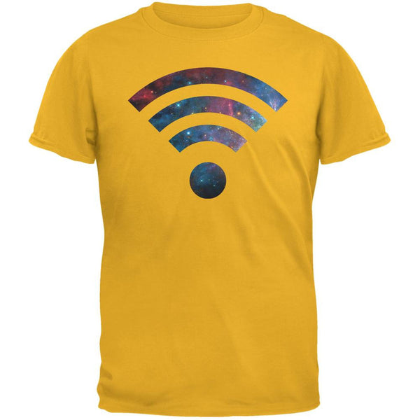 Wifi Galaxy Gold Adult T-Shirt