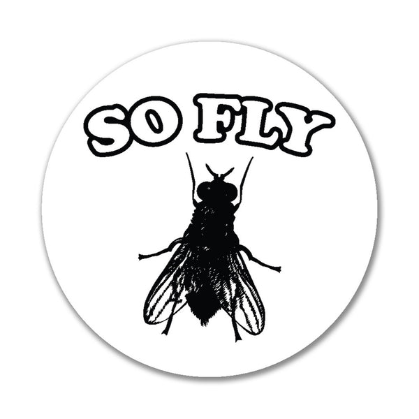 So Fly 4x4 Round Sticker