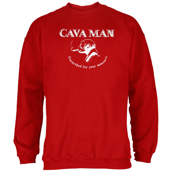 Cava Man Red Adult Sweatshirt