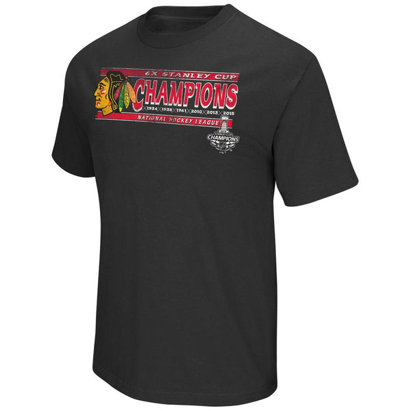 Chicago Blackhawks - Stanley Cup Champions Commemorative T-Shirt