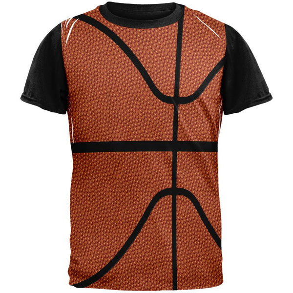 Basketball Costume Adult Black Back T-Shirt