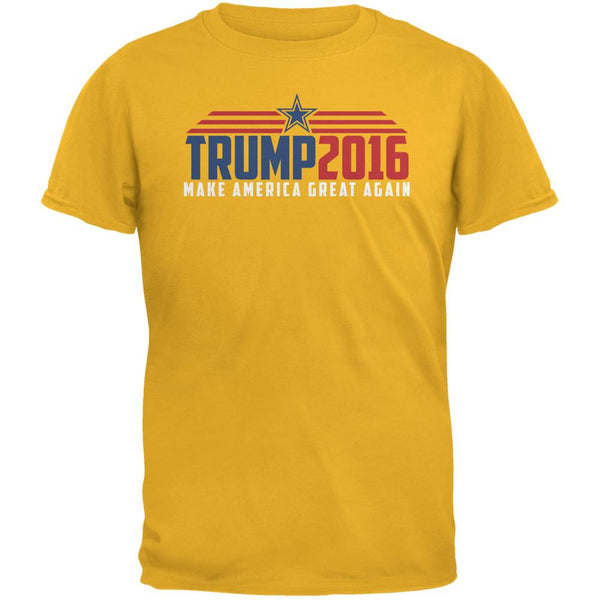 Election 2016 Trump 2016 Make America Great Gold Adult T-Shirt