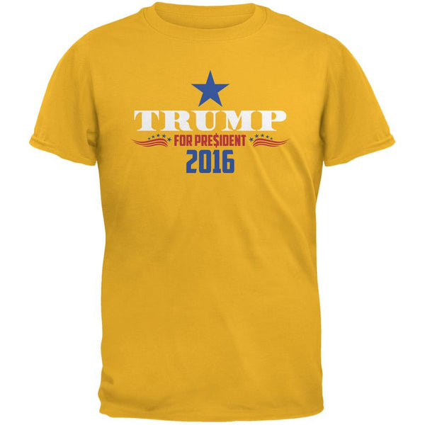 Election 2016 Trump For President Dollar Sign Gold Adult T-Shirt