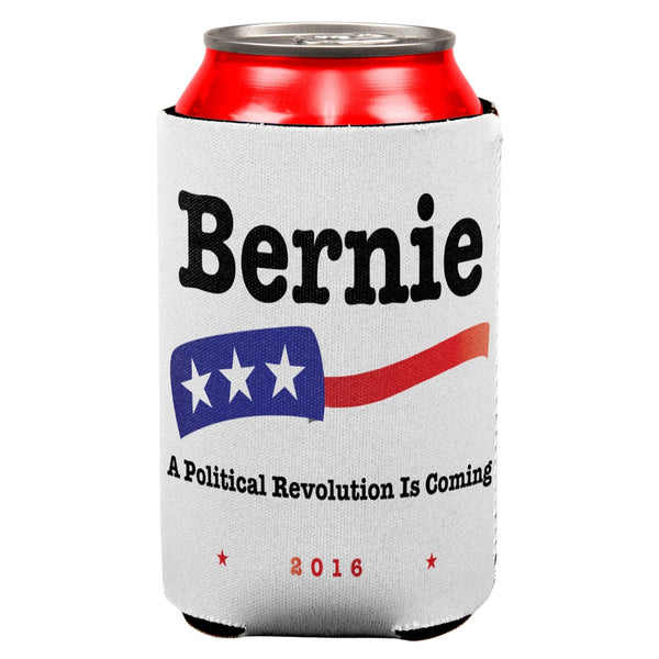 Election 2016 Bernie Sanders Revolution All Over Can Cooler