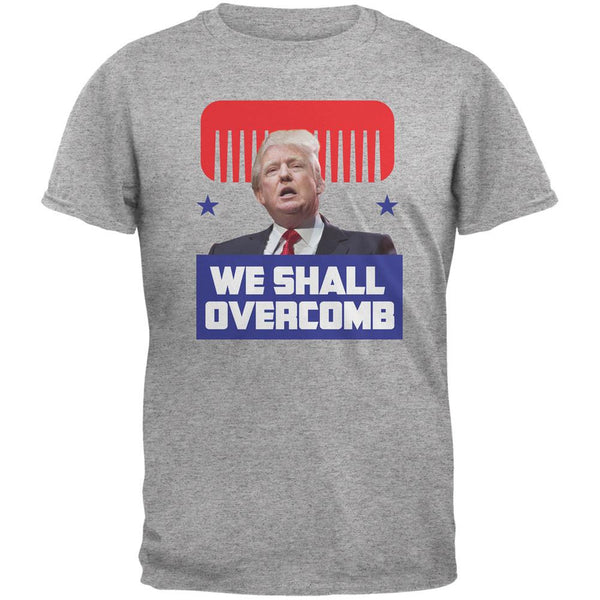 Election 2016 Trump We Shall Overcomb Heather Grey Adult T-Shirt