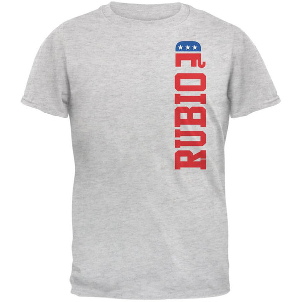 Election 2016 Team Marco Rubio Light Heather Grey Adult T-Shirt