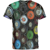 Spray Cans All Over Adult T-Shirt