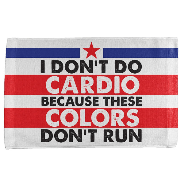 4th Of July I Don't Do Cardio All Over Sport Towel