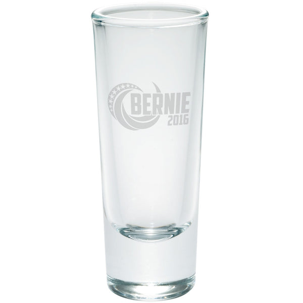 Election 2016 Bernie 2016 Swoosh Etched Shot Glass Shooter