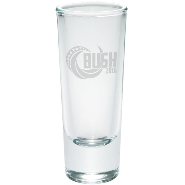 Election 2016 Bush 2016 Swoosh Etched Shot Glass Shooter