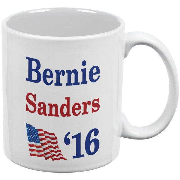 Election 2016 16 Flag Bernie Sanders White All Over Coffee Mug