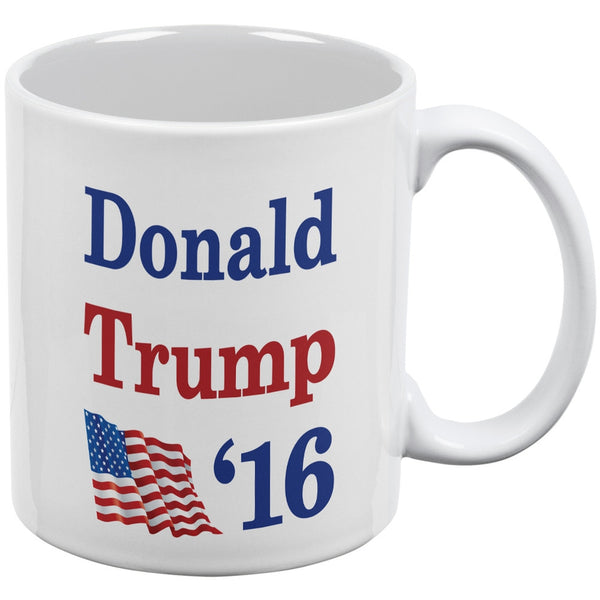 Election 2016 16 Flag Donald Trump White All Over Coffee Mug