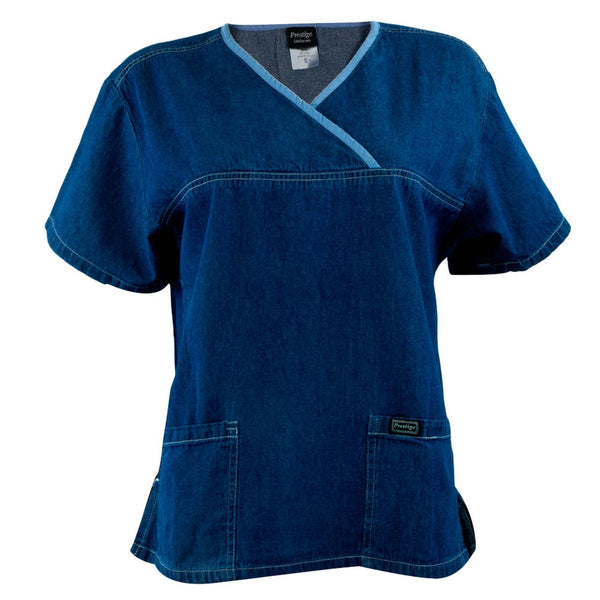 Jean Style Adult Scrub Top