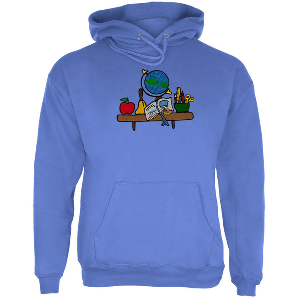 Teacher's Desk Embroidery Adult Pullover Hoodie