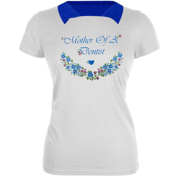 Mother Of A Dentist Women's 2Fer Polo T-Shirt
