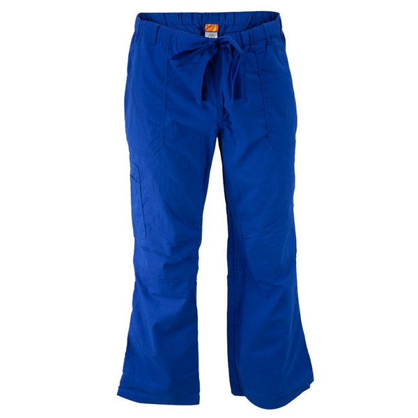 Royal Blue Carpenter Adult Scrub Bottoms