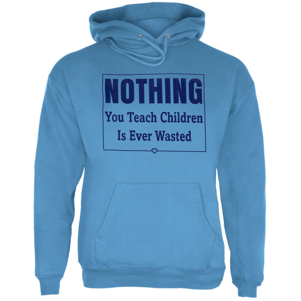 Nothing You Teach Children Is Ever Wasted Adult Hoodie