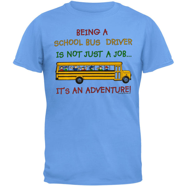 School Bus Driver Adventure Adult T-Shirt
