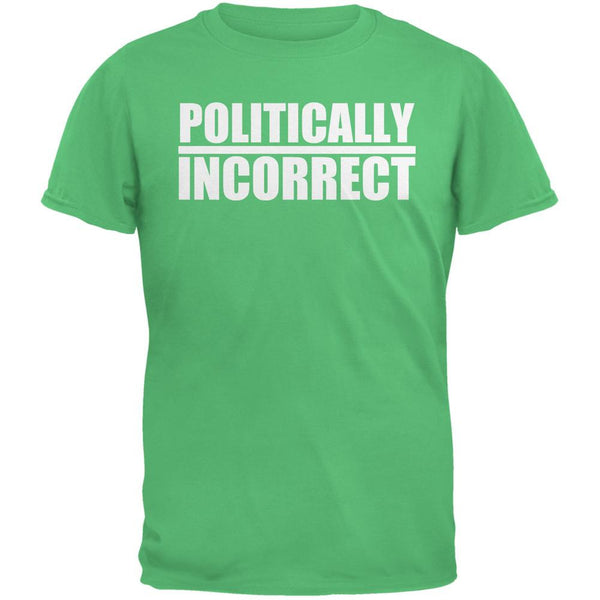 Politically Incorrect Funny Joke Irish Green Adult T-Shirt