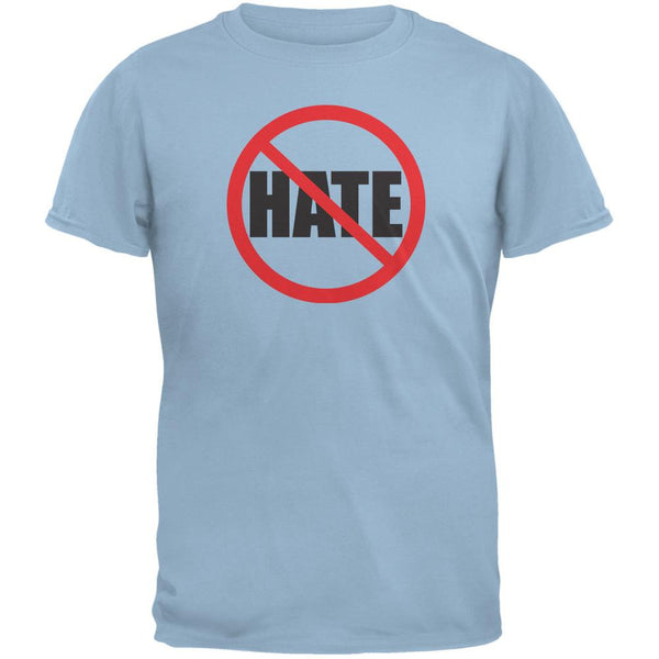 Anti Hate Light Blue Adult T-Shirt