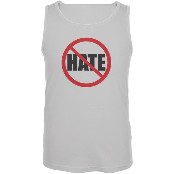 Anti Hate White Adult Tank Top