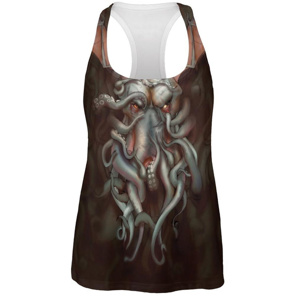 Call of Cthulhu All Over Womens Work Out Tank Top