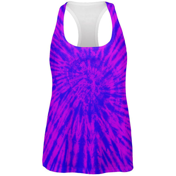 Transgender Tie Dye All Over Womens Work Out Tank Top