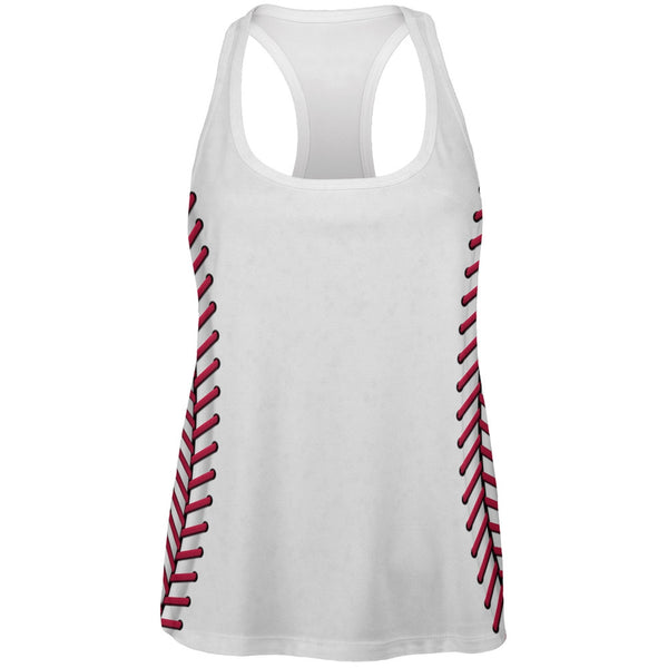 Baseball Costume All Over Womens Work Out Tank Top