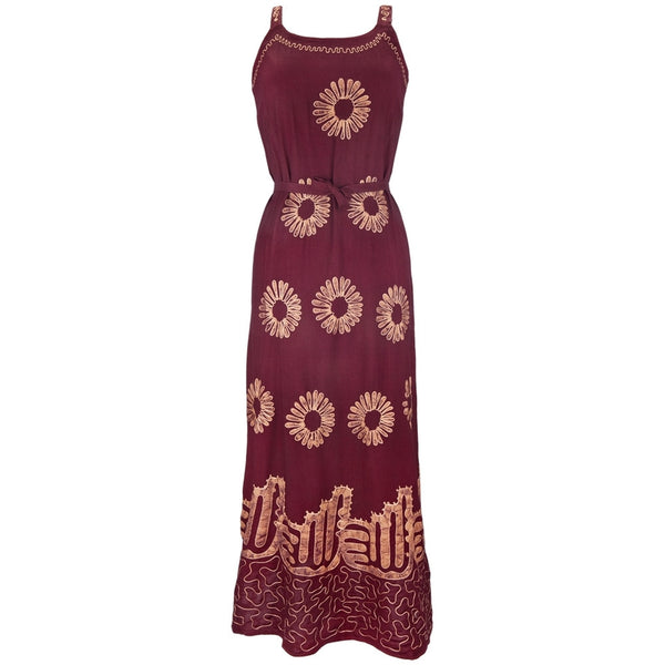 Sunflowers - Batik Juniors Dress