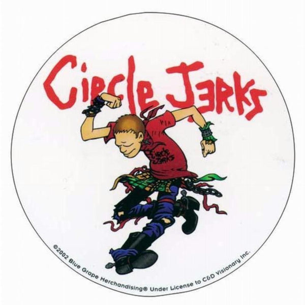 Circle Jerks - Dance - Decal