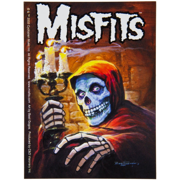Misfits - Candle Skeleton Sticker