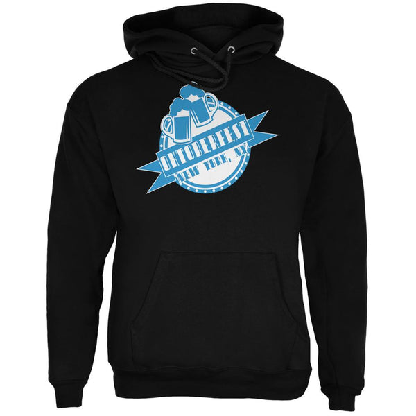Oktoberfest New York NY Black Adult Hoodie
