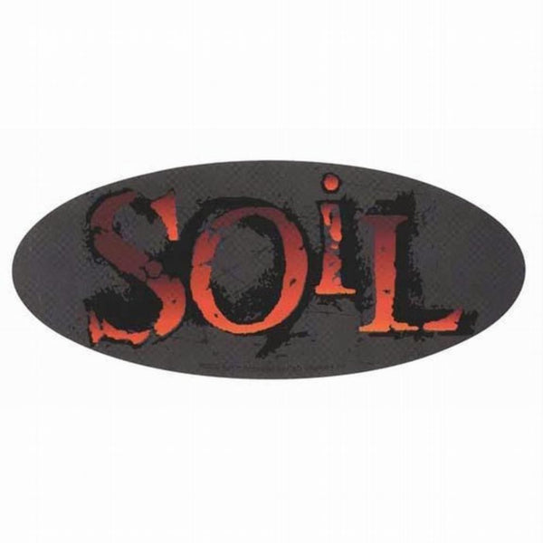 Soil - Oval Logo Decal