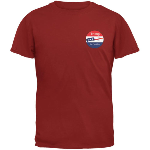 Election 2016 Donald Trump for President Jersey Cardinal Red Adult T-Shirt