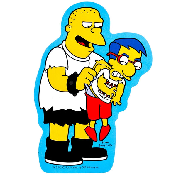Simpsons - Kearney & Milhouse Sticker