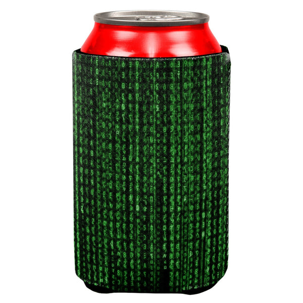 Falling Binary Code All Over Can Cooler