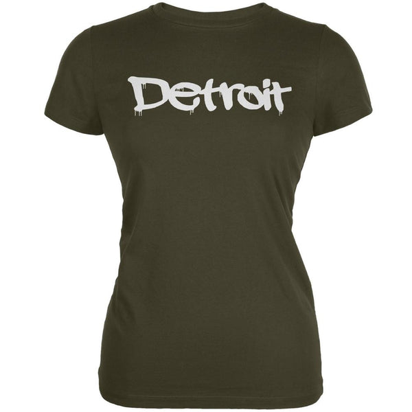 Detroit Graffiti Army Juniors Soft T-Shirt