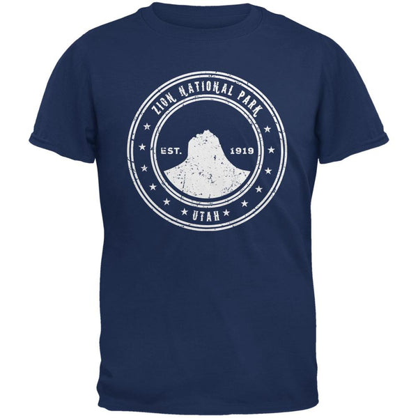 Zion National Park Metro Blue Adult T-Shirt