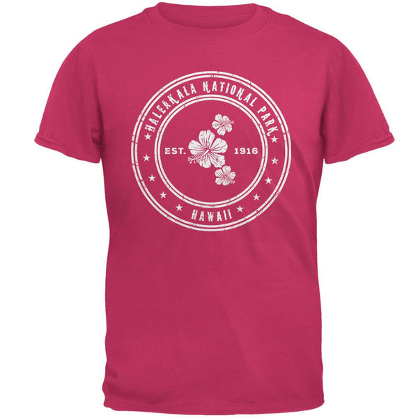 Haleakala National Park Pink Adult T-Shirt