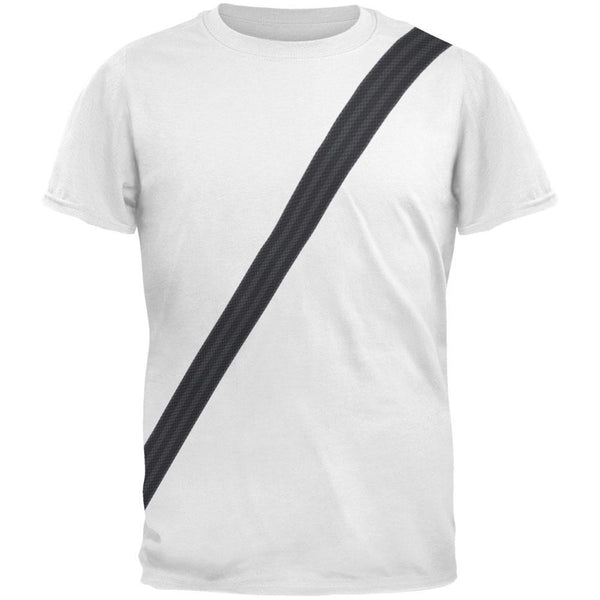 Seatbelt Driver Side Costume All Over Adult T-Shirt
