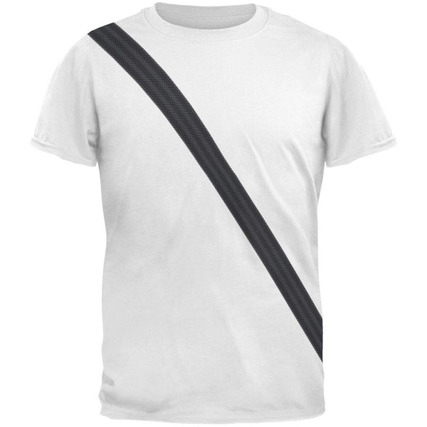 Seatbelt Passenger Side Costume All Over Adult T-Shirt