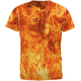Flames All Over Adult T-Shirt