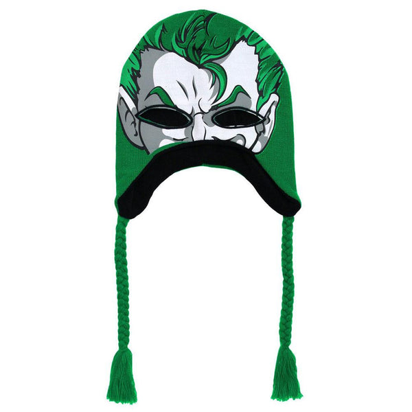 Batman - Joker Intarsia Peruvian Knit Hat