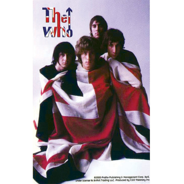 The Who - British Flag Sticker